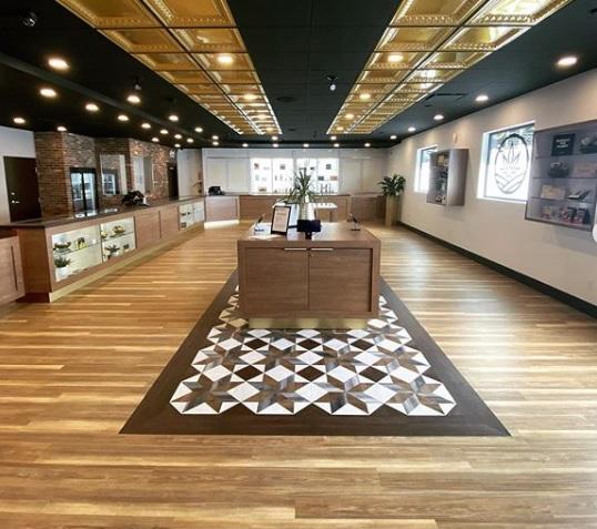 Kalamalka Cannabis shop interior view